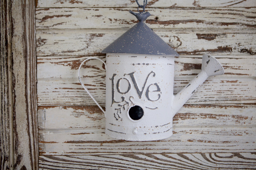 Metal Love Birdhouse