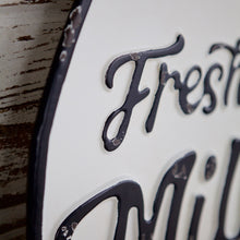 Load image into Gallery viewer, Fresh Milk Bottle Sign