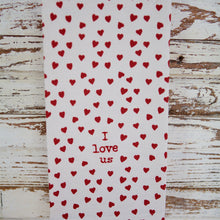 Load image into Gallery viewer, Red Love Themed Kitchen Towel Sets