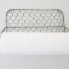 Load image into Gallery viewer, Chicken Wire Paper Towel Holder