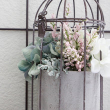 Load image into Gallery viewer, Metal Birdcage with Planter Pot