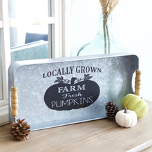 Load image into Gallery viewer, Farm Fresh Pumpkin Tray