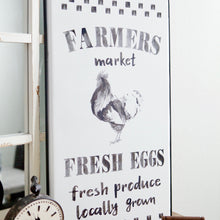 Load image into Gallery viewer, Farmer's Market Metal Sign