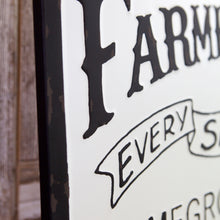 Load image into Gallery viewer, Farmers Market Sign With Strawberry
