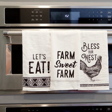Load image into Gallery viewer, Farmhouse Tea Towel Set