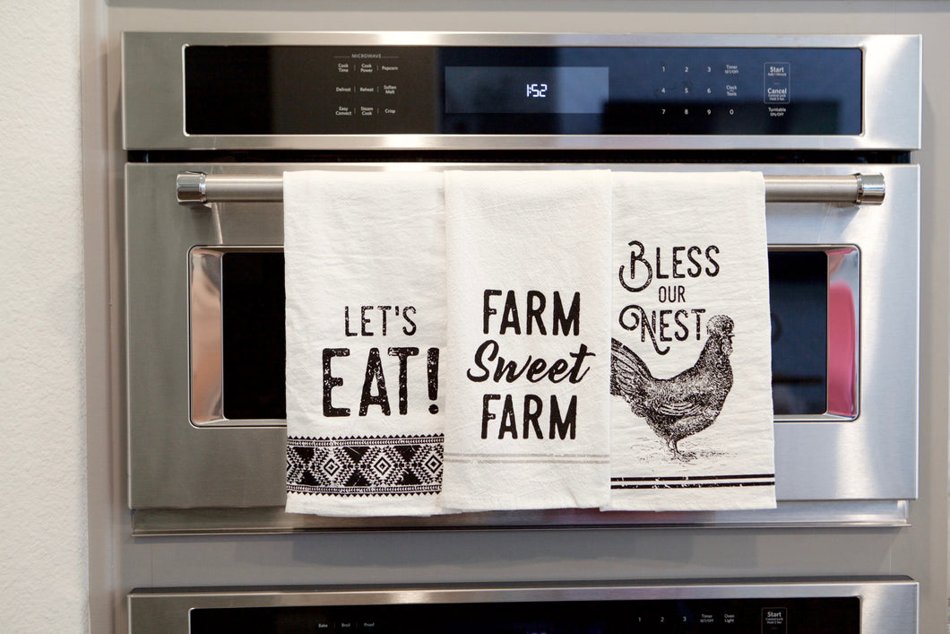 Farmhouse Tea Towel Set