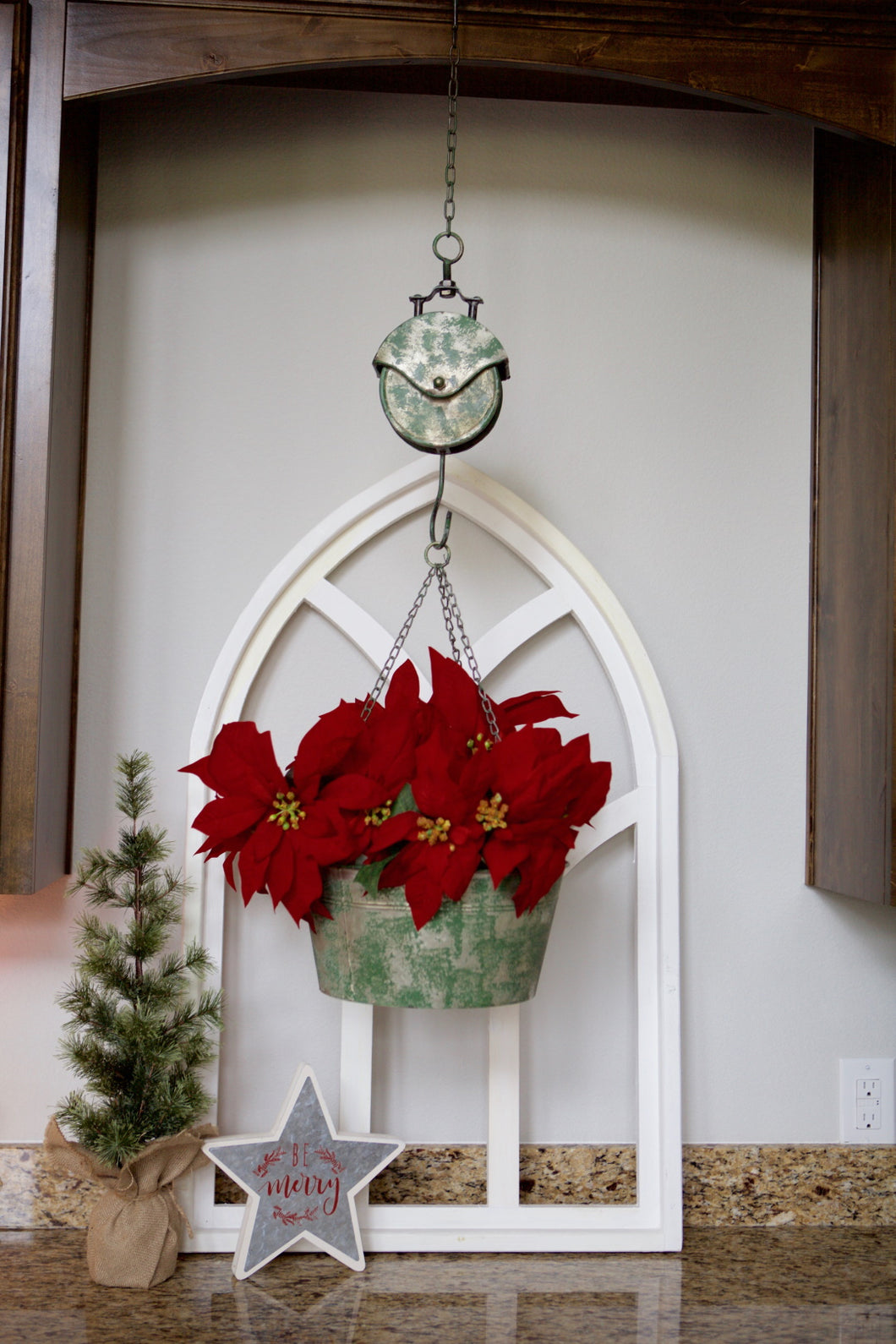 Hanging Scale Planter