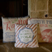 Load image into Gallery viewer, Vintage Style Holiday Pillows