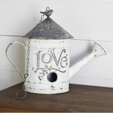 Load image into Gallery viewer, Metal Love Birdhouse