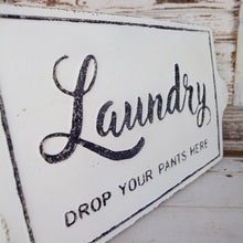 Load image into Gallery viewer, Laundry Wall Sign