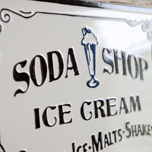 Load image into Gallery viewer, Soda Shop Sign