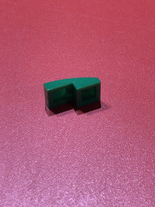 【レゴ】PLATE W. BOW 1X2X2/3 DARK GREEN