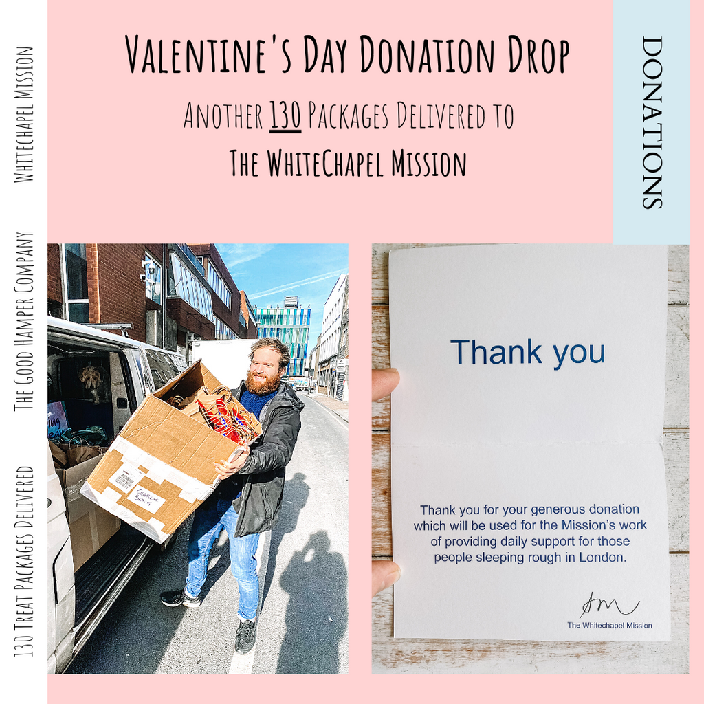 Valentine's Day Donation Drop