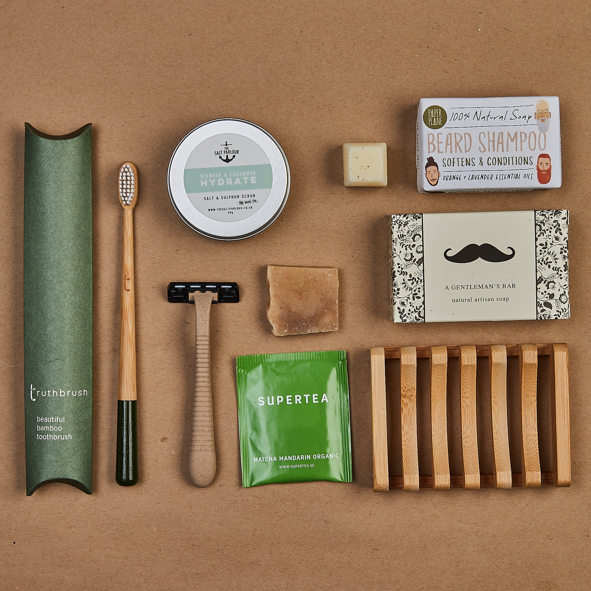 Eco Male Grooming Gift Box