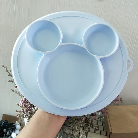 Baby Silicone Feeding Plate and Tableware