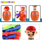 Toy Pirate Barrel Novelty Game