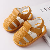 Infant Boy and Girl First Walker Sandals