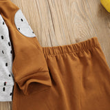 Baby Boy  Bear Hooded Top and Pants