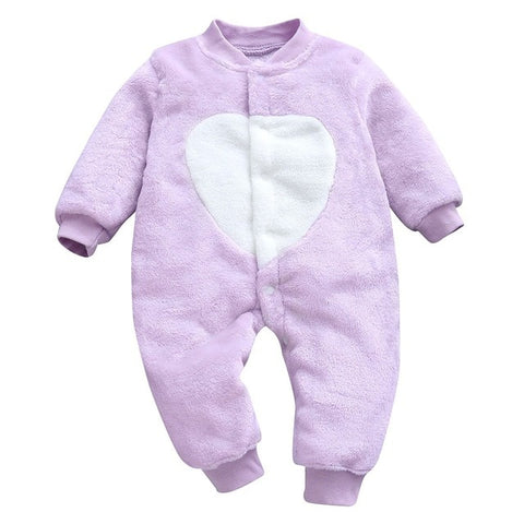 Baby Girls or Boys Cartoon Jumpsuit