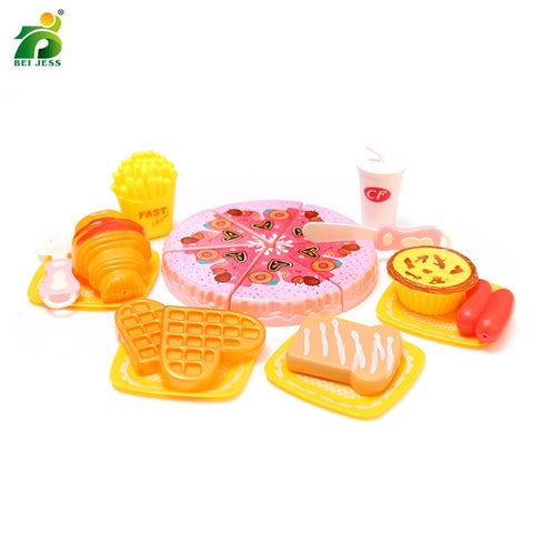 20Pcs Kids Kitchen Pizza Pretend Play Fake Food