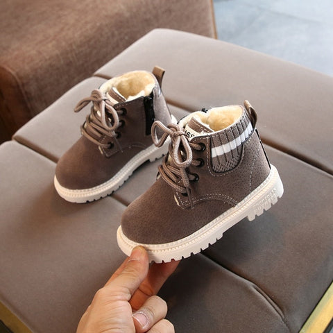 Unisex Toddler/Kids Lace Up Boots