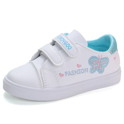 Toddler/Girls Casual Butterfly Sneakers