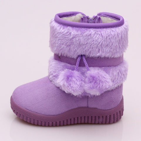 Baby/Toddler/Girl Winter Mid Boots