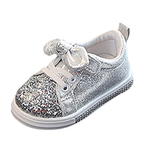 Baby/Toddler Girls Bow Knot Sport Sneakers