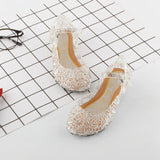 Girls Summer Crystal Princess Sandals