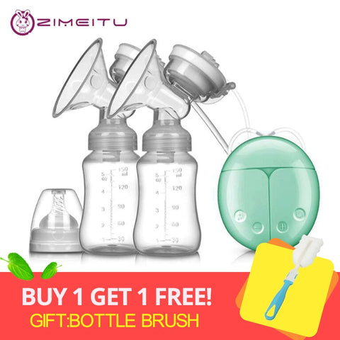 Double Electric Breast Pump Plus One Brush