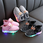 Infant/Toddler Boy and Girl  Luminous Owl Sneakers