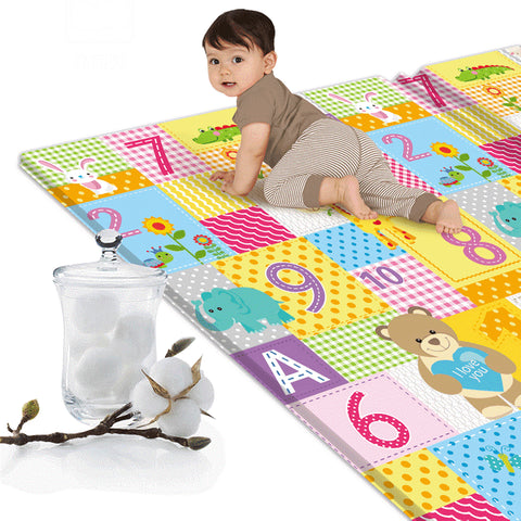 Cartoon Children Double-sided Folding Crawling Mat