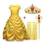 Fantastic Beauty and The Beast Dress Princess Belle