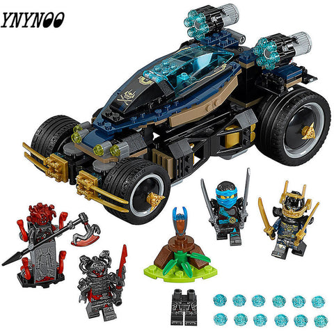 458pcs Compatible Lepining Ninjagoe Movie Building Blocks