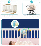 Rotating Crib Mobile Toy Holder with Musical Box Projection