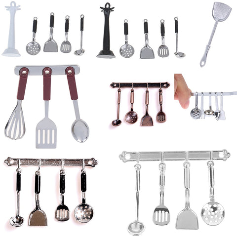 Dollhouse Miniature Tableware Cutlery