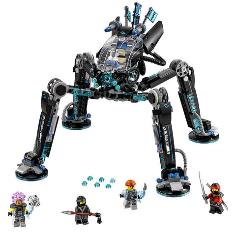 Ninjagoe Movie 538pcs Building Blocks Water Strider