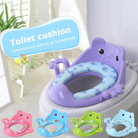 Cartoon Toilet Potty Seat with Cushion
