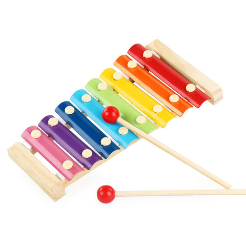 Wooden Toy Music Xylophone Instrument