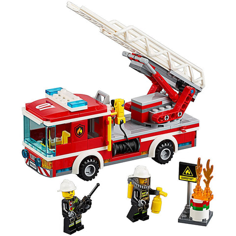 Fire Ladder Truck  Building Blocks
