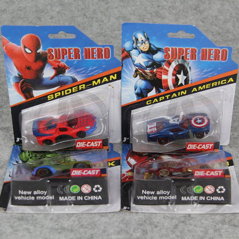 Superhero Toy Cars