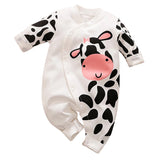 Baby Boy or Girl Cow Romper