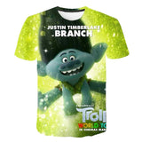 Assorted Trolls T-Shirts for Kids
