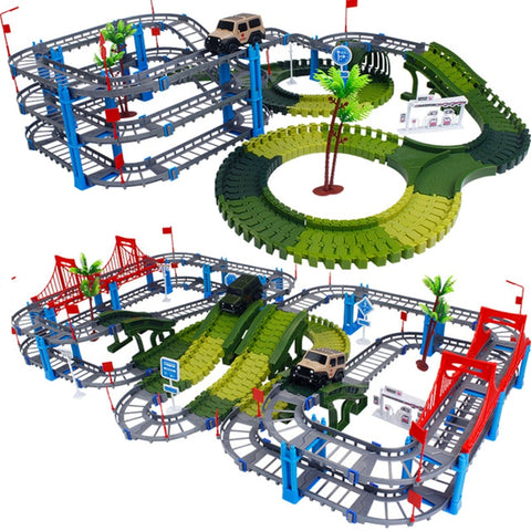 2020 Railway Magical Racing Track Play Set