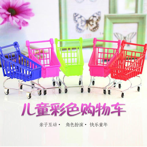 Mini Supermarket Cart for Dolls