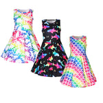 Girls Assorted Summer Party Dresses