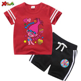 Trolls Shirt and Shorts Set for Baby Girls