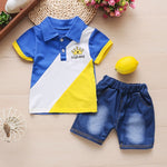 Baby Boy Assorted Shirt and Short Sets
