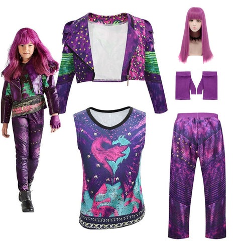 Descendants 3 Mal Costume for Kids