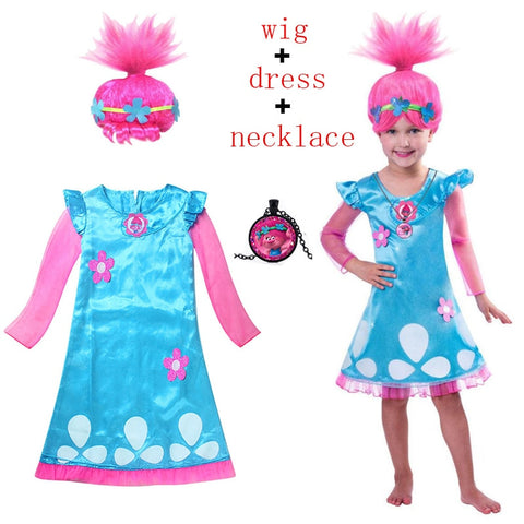 Trolls Poppy 3 Piece Costume